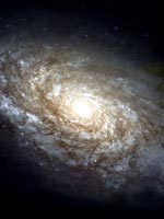Спиральная Галактика NGC 4414 (фото Хаббла)