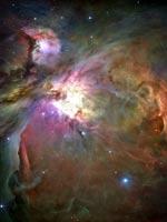 Туманность «Орион» (фото Хаббла)