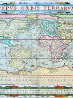 Континент Даария на картах Абрахама Ортелиуса