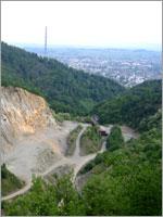 Угольный разрез возле села Ржавчик, Тисульского района