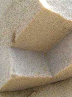 Фото 48. Блок сложной формы в районе Пирамиды Аменемхета II (Дашур)