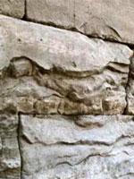 Фото 54. Слоистая структура бетонных блоков
