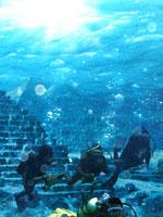 Пирамиды под водой