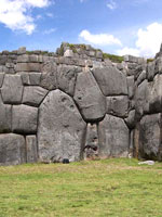 Мегалитические сооружения в Саксайуамане (Перу)