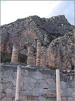 Храм Апполона в Дельфах (Греция)