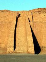 Ирак: пирамида зиккурата в Уре (древний Шумер)