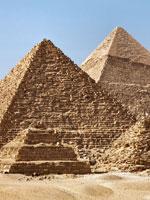 Египет: три знаменитых пирамиды в Гизе
