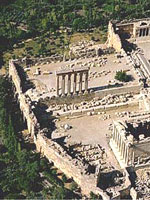 Храмовый комплекс Баальбек в Ливане