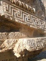 Свастика в Храмовом комплексе Баальбек в Ливане
