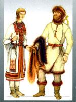 Костюм удмуртов