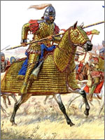 Катафрактарии – это славяне, оборонявшиеся против европейцев...