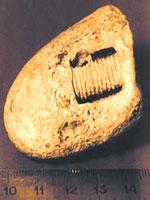 Болт, найденный в породе возрастом в 300 млн. лет
