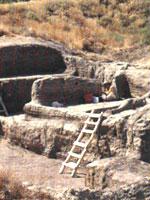 Раскопки Чатал-уюка (Чатал-хююк, Чатал-гуюк) в Турции
