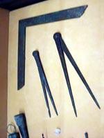 Инженерные инструменты. Помпеи. Национальный археологический музей Неаполя