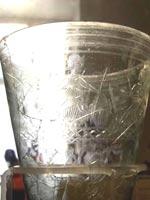 Стеклянная ваза из Сепино. Национальный археологический музей Неаполя