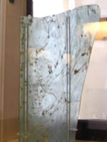 Оконное стекло из Геркуланума. Национальный археологический музей Неаполя