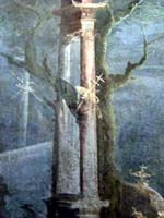 Фреска с оружием из Помпей. Национальный археологический музей Неаполя