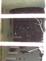 Внутренний вид колодца водовода в точке Р. 6.