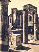 Фотография храма Изиды, 19-й век