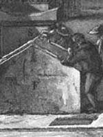 Гравюра Франческо Пиранези. Увеличенный фрагмент