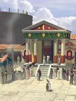 Комплекс храма Изиды. Реконструкция