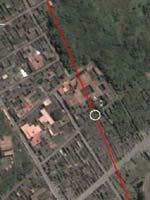 Маршрут водовода в районе виллы Менандра
