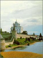 Это город Изборск, которому более 1150 лет