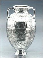 Этрусская Посеребренная амфора. II век до н.э.