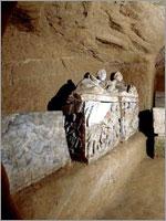 Этрусское захоронение, обнаруженное в окрестностях города Кьюзи в центральной Италии