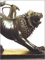 Этрусская бронзовая статуя 5 века до н.э.