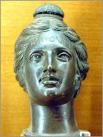 Этрусская Бронзовая фляга для масла. II век до н.э.