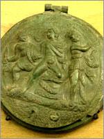 Этрусское Карманное зеркало. III век до н.э.
