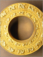 Этрусская Золотая подвеска. VI век до н.э.