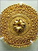 Этрусская Золотая серьга. 530-480 гг. до н.э.