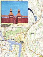 Рис.1. Старая Казань. Находится в 45 км к северо-востоку от современной Казани