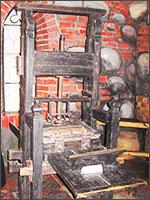 Печатный станок Гуттенберга