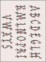 Дукт Рустического шрифта