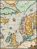 Карта Рудольфа Меркатора