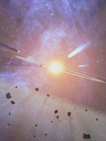O cinturão de asteróides entre Marte e Júpiter - tudo o que restava da Dea ...