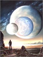 Такой могла быть лунная ночь на Земле 113 тысяч лет назад