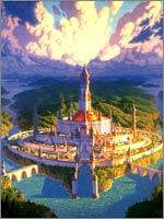 Isso poderia ser a cidade de Asgard Daariysky - a capital dos lendários Da'Arias