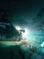 Следы цивилизации под водой. Иллюстрация с сайта «Заговор Ориона»