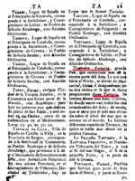Страница с текстом о Тартарии из испанской энциклопедии Diccionario Geografico Universal, 1795