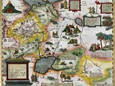 Карта Московской Тартарии Энтони Дженкинсона (Anthony Jenkinson), 1562 год