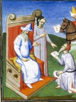 «Монгольский» хан Хубилай и гонцы (Kubilai et les messagers)