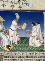 Великий хан вручает Марко Поло золотую печать (Le grand khan donne son sceau d or a Marco Polo)