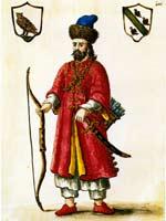 ����� ���� � ���������� ������� (Marco Polo costume tartare)
