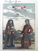 «Татары» в изображении Мале (Allain Manesson Mallet)