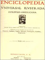 Титульный лист испанской энциклопедии «Enciclopedia Universal Ilustrada Europeo-Americana» 1928 года издания