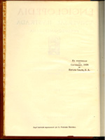 Лист с датой издания испанской энциклопедии «Enciclopedia Universal Ilustrada Europeo-Americana»